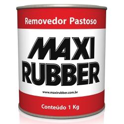 Removedor Pastoso de Tinta 1KG - Maxi Rubber - Marquezim Tintas