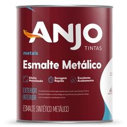 Esmalte Sintético Metálico 0,9L - Anjo - Marquezim Tintas