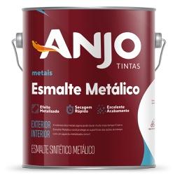 Esmalte Sintético Metálico 3,6L - Anjo - Marquezim Tintas