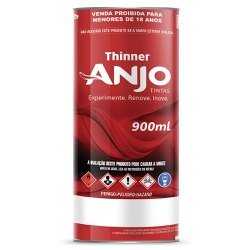 Thinner 2900 0,9L - Anjo - Marquezim Tintas