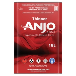 Thinner 2900 18L - Anjo - Marquezim Tintas