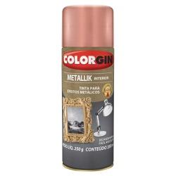 Spray Metallik Interior Metálico 350ml - Colorgin - Marquezim Tintas