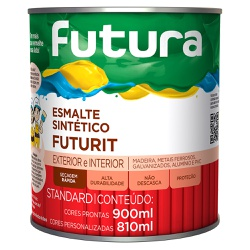 Esmalte Sintético Standard Futurit Brilhante 0,9L ... - Marquezim Tintas
