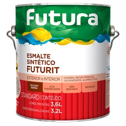 Esmalte Sintético Standard Futurit Brilhante 3,6L ... - Marquezim Tintas