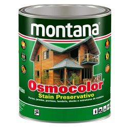 Osmocolor Stain Preservativo 0,9L - Montana - Marquezim Tintas