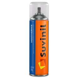 Spray Multiverniz Fosco 400ml - Suvinil - Marquezim Tintas