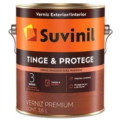 Verniz Tinge e Protege Brilhante 3,6L - Suvinil - Marquezim Tintas