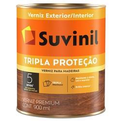 Verniz Tripla Proteção Fosco 0,9L Natural - Suvini... - Marquezim Tintas