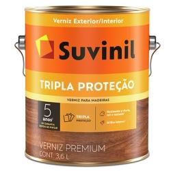 Verniz Tripla Proteção Fosco 3,6L Natural - Suvini... - Marquezim Tintas