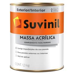 Massa Acrílica Premium 1,3KG - Suvinil - Marquezim Tintas