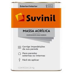 Massa Acrílica Premium 25KG - Suvinil - Marquezim Tintas