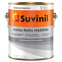 Massa para Madeira 5,5KG- Suvinil - Marquezim Tintas