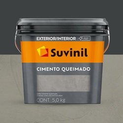 Textura Cimento Queimado 5kg - Suvinil - Marquezim Tintas