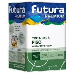 Tinta Premium para Piso Fosca 18L - Futura - Marquezim Tintas