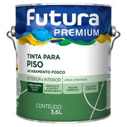 Tinta Premium para Piso Fosca 3,6L - Futura - Marquezim Tintas