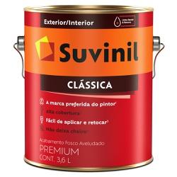 Tinta Látex Premium Fosco Aveludado 3,6L - Suvinil... - Marquezim Tintas