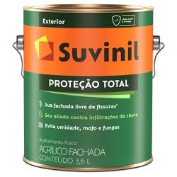 Tinta Acrílica Emborrachada Fosca Proteção Total 3... - Marquezim Tintas
