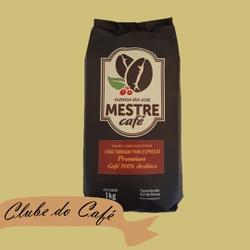 Clube MESTRE CAFÉ ESPRESSO PREMIUM - 1 kg - 100% A... - MESTRE CAFÉ