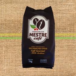 MESTRE CAFÉ ESPRESSO GOURMET - 100% Arábica - 1 kg... - MESTRE CAFÉ
