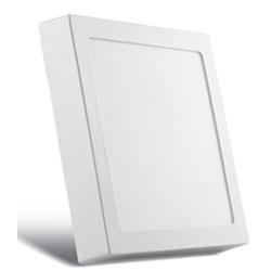 Painel Sobrepor LED Quadrado Branco 20x20cm 20W BI... - Meta Materiais Elétricos Ltda