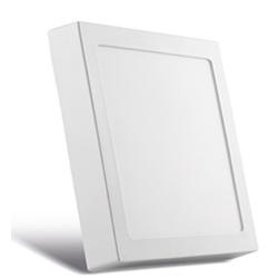 Painel Sobrepor LED Quadrado Branco 30x30Cm 25W BI... - Meta Materiais Elétricos Ltda