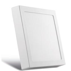 Painel Sobrepor LED Quadrado Branco 40x40Cm 36W BI... - Meta Materiais Elétricos Ltda