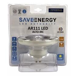 Lampada Ar111 Led 12w 2700k Amarela SE-105 - Save ... - Meta Materiais Elétricos Ltda