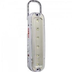 Luminária Emergência 6 Leds c/Pilha Recarregavel 0... - Meta Materiais Elétricos Ltda