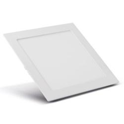Painel Embutir LED Quadrado Branco 20W 22x22Cm Biv... - Meta Materiais Elétricos Ltda