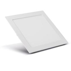 Painel Embutir Led Quadrado Branco 25w 30x30cm Biv... - Meta Materiais Elétricos Ltda