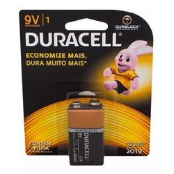 Bateria 9V Duracell - Meta Materiais Elétricos Ltda