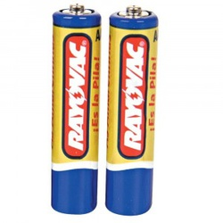 Pilha AA Pequena RAYOVAC - Cartela com 2 - Meta Materiais Elétricos Ltda