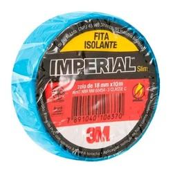 Fita Isolante 18mm x 10m Azul - 3M - Meta Materiais Elétricos Ltda