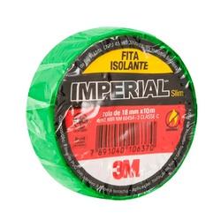Fita Isolante 18mm x 10m Verde - 3M - Meta Materiais Elétricos Ltda