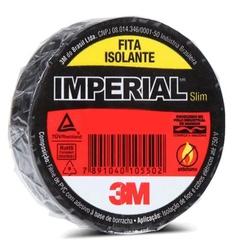 Fita Isolante Imperial 18mm x 20m - 3M - Meta Materiais Elétricos Ltda