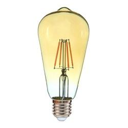 Lâmpada Led Vintage Pera ST64 4W Bivolt 2400K 5335... - Meta Materiais Elétricos Ltda