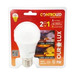 Lâmpada Led Bulbo 9W Bivolt 2 em 1 Anti-Inseto 204... - Meta Materiais Elétricos Ltda