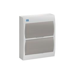 Quadro De Distribuição PVC Sob 24DIN BR/Fumê QDW02... - Meta Materiais Elétricos Ltda