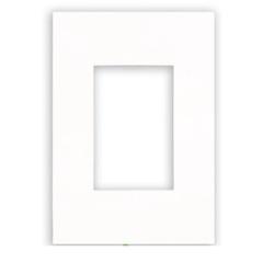 Placa 4 x 2 Branca 3 Mod 582565B - ARTEOR - Meta Materiais Elétricos Ltda