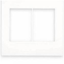 Placa 4 x 4 Branca 3+3 postos 575300B - ARTEOR - Meta Materiais Elétricos Ltda