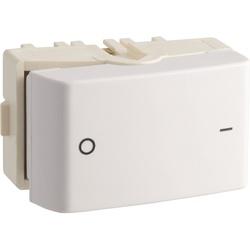 Interruptor Bipolar Simples 25A Branco PRM0450151 - Meta Materiais Elétricos Ltda