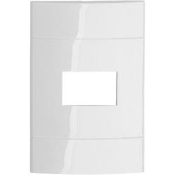 Placa 4x2 1 Módulo Branca PRM044211 Decor - Schnei... - Meta Materiais Elétricos Ltda