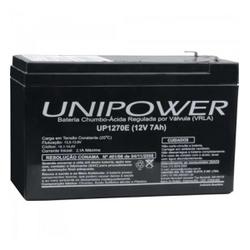 Bateria Selada 74H 127V 7A UP1270 - Meta Materiais Elétricos Ltda
