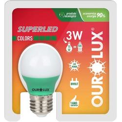 Lâmpada Superled S30 Colors 3W Bivolt VERde 05431 ... - Meta Materiais Elétricos Ltda