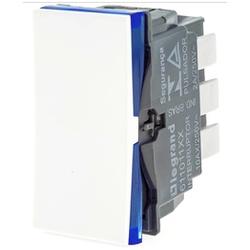 Interruptor Paralelo Branco - 611011BC Pial Plus + - Meta Materiais Elétricos Ltda