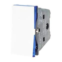 Interruptor Simples Branco - 611000BC Pial Plus+ - Meta Materiais Elétricos Ltda