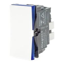 Interruptor Simples Branco - 610010BC Pial Plus+ - Meta Materiais Elétricos Ltda