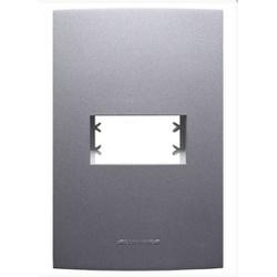 Placa 4x2 1 Mod c/sup Grafite 85476 - INOVA PRO CL... - Meta Materiais Elétricos Ltda