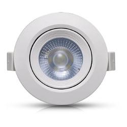 Spot Led Embutir Redondo 5W 6500K - GALAXY - Meta Materiais Elétricos Ltda