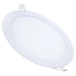 Painel Sobrepor LED Redondo 18W Bivolt 3000K MB180... - Meta Materiais Elétricos Ltda